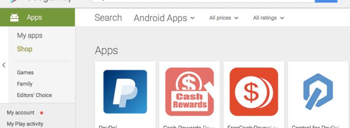 Aplikasi PayPal Android di Google Play Indonesia