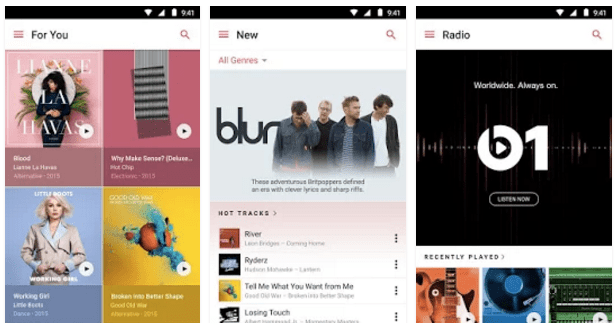 Apple Music di Android