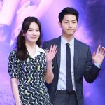 Foto Song Hye Kyo dan Song Joong ki Rilis Korean Drama Descendants of the Sun