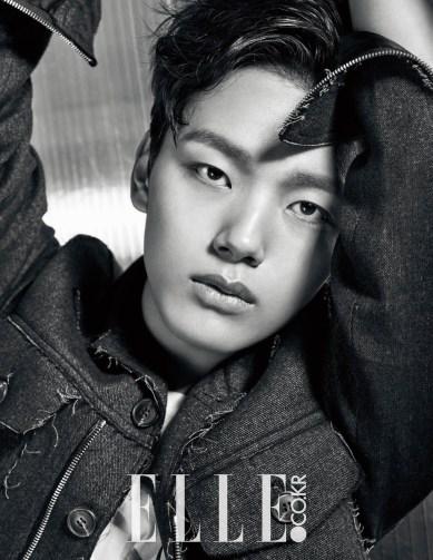 Foto maskulin Yeo Jin Goo di ELLE