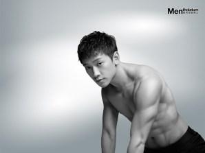 Jung Ji-hoon (Rain) Six Packs Photos