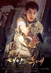 Poster Descendants of the Sun Song Joong-ki