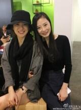 Song Hye-kyo senyum bersama Liu Yujie