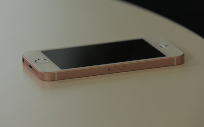 inilah iPhone SE Rose Gold