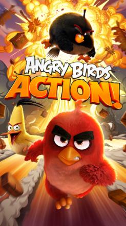 Angry Birds Action! Permainan Seru