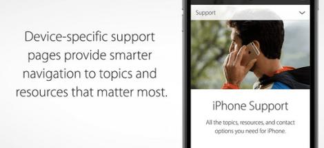 Apple Support di iPhone