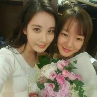 Offcial Instagram Seo Hyun Jin Photo Smile selfie