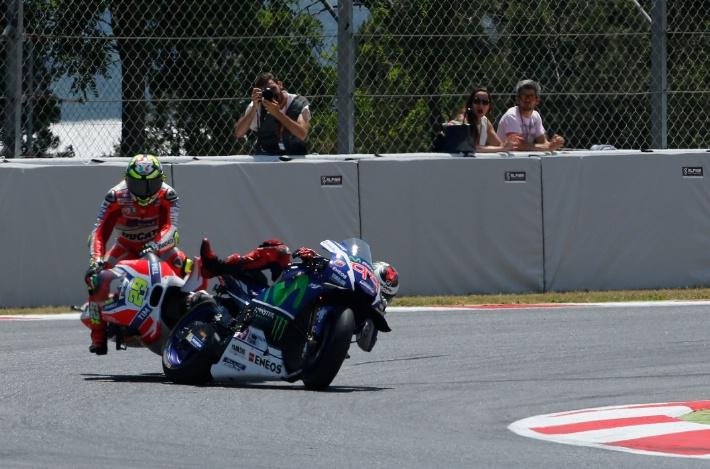 Andrea Iannone Ducati Jorge Lorenzo Catalunya MotoGP