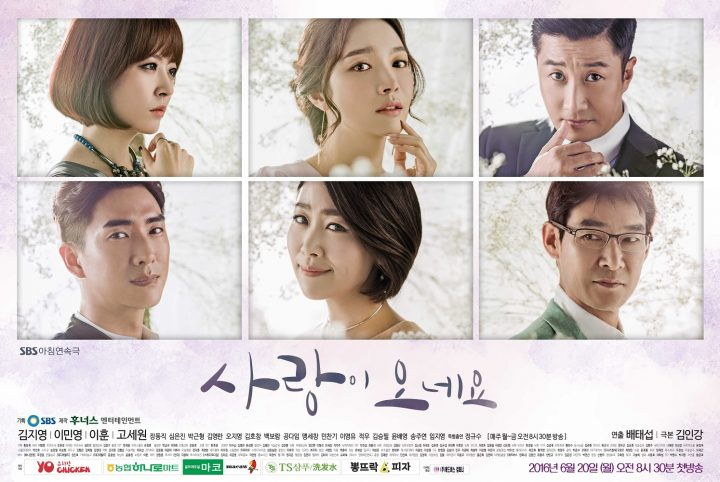 Poster Pemain K-Drama Here Comes Love