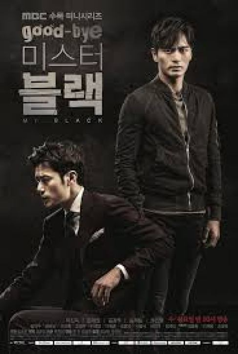 "Poster 2 K-Drama ""Goodbye Mr. Black"""