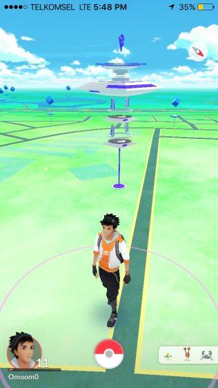 Maps Virtual Pokemon GO