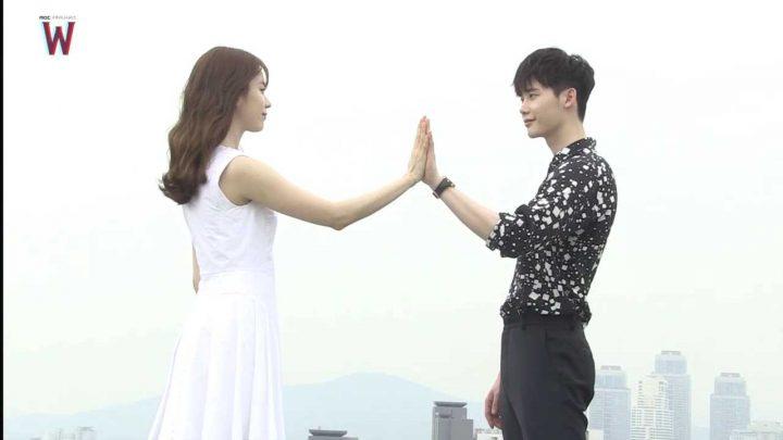 Dua Pemeran Utama Drama Korea W - Two Worlds