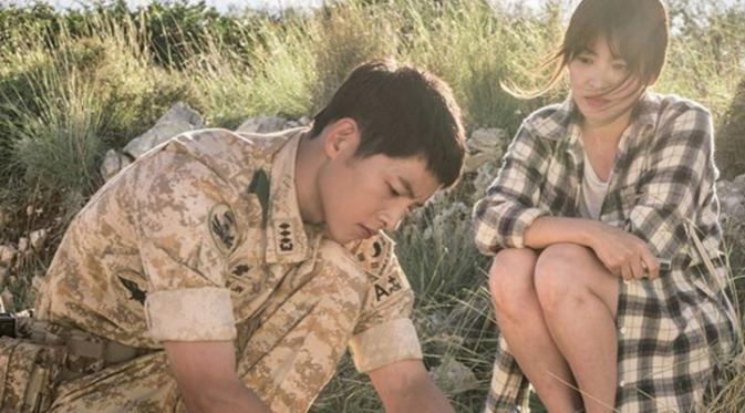 Akting Song Joong Ki dan Song Hye Kyo di DotS