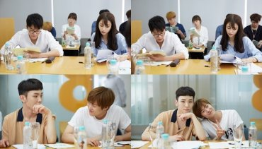 First Script Reading Situation of K-Drama Drinking Solo