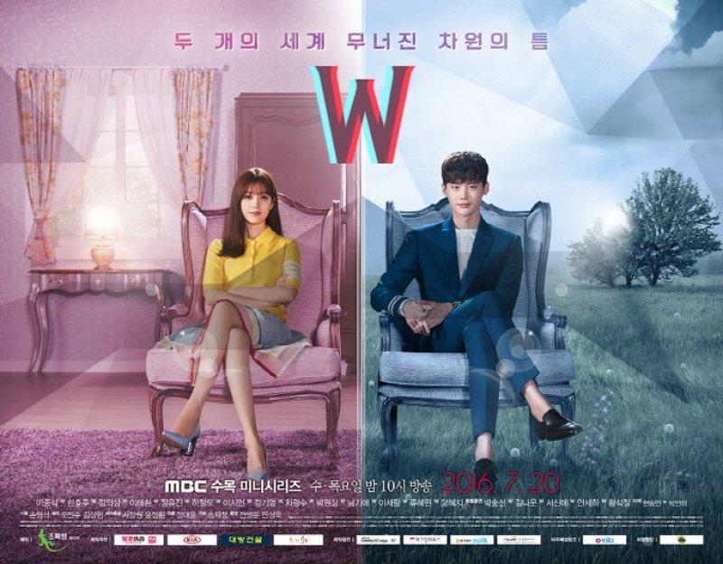 "K-Drama ""W - Two Worlds"" Poster 6"