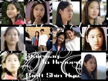 "Park Shin Hye in K-Drama ""Stairway to Heaven"" Poster"
