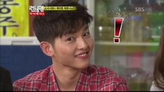 """Song Joong Ki at Variety Show """"Running Man"""""""