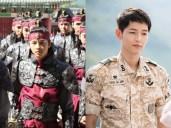 "Early Career of Song Joong Ki in K-Drama ""A Frozen Flower"""