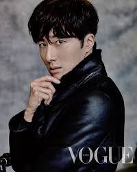 Jung Il Woo Poses for Vogue