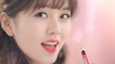 Foto Kim So Hyun Did a CF for a Beauty Product
