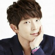 A Sweet Pose of Lee Joon Ki