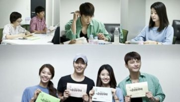 "All Actors in the First Script Reading of ""Shopping King Louie"""