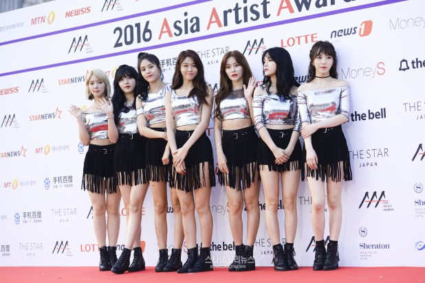 The 2016 Asia Artist Awards Red Carpet - AOA