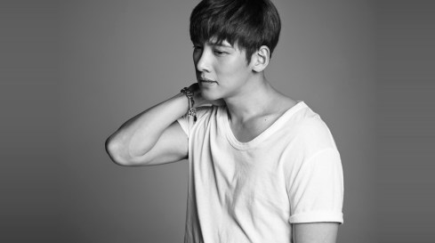 The Black-and-White Photo of Ji Chang Wook