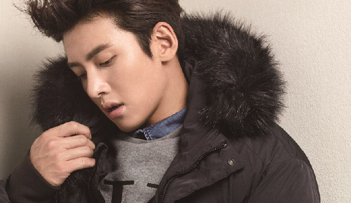 Ji Chang Wook in a cool pose