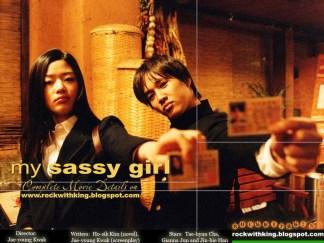"Korean Drama ""My Sassy Girl"" Poster 1"