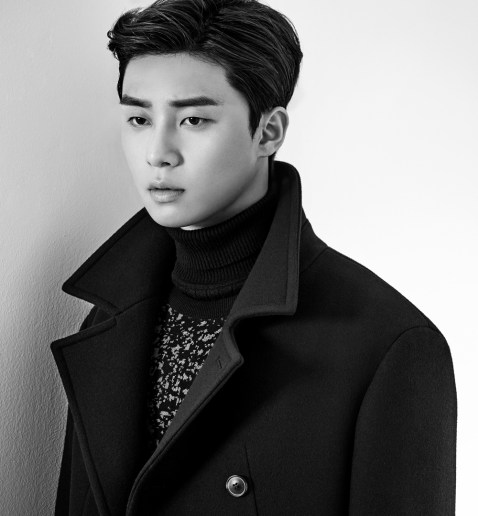 Park Seo Joon Black And White Style