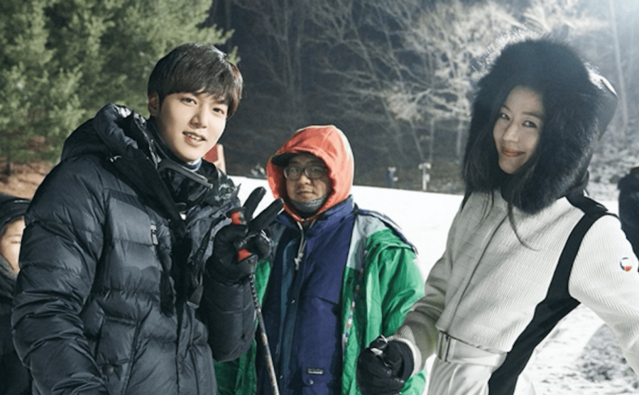 Behind The Scene The Legend Of The Blue Sea 1