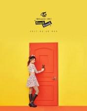 TWICE Knock Knock Poster Sana