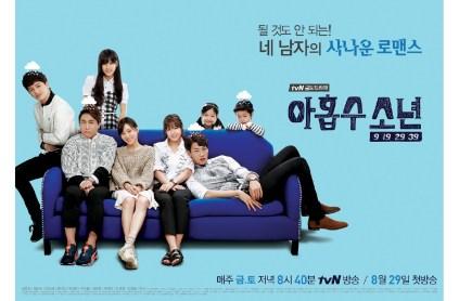 Yook Sung Jae Plus Nine Boys Poster