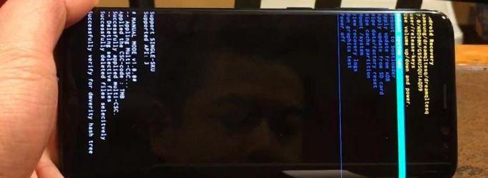 Cara Reset Samsung Galaxy S8 Plus