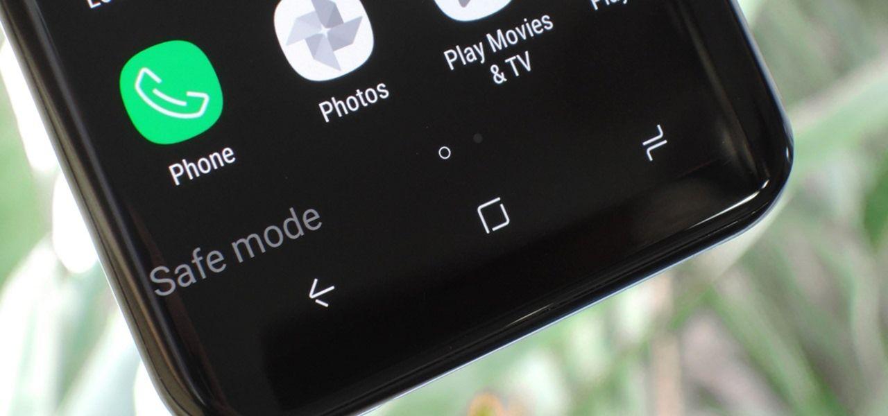 Safe Mode Samsung Galaxy S9