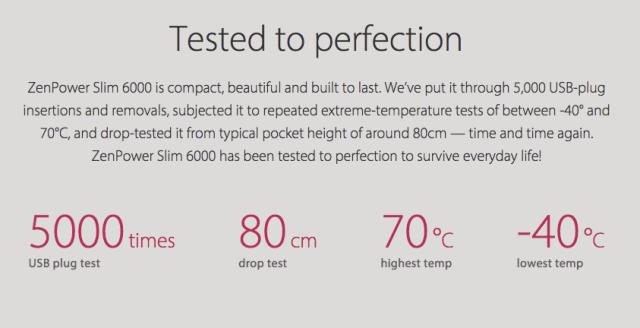 Asus ZenPower Slim 6000 Sudah Teruji