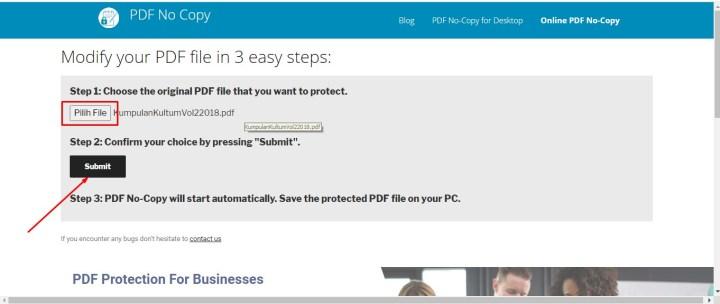 Cara Memberikan Proteksi Di PDF