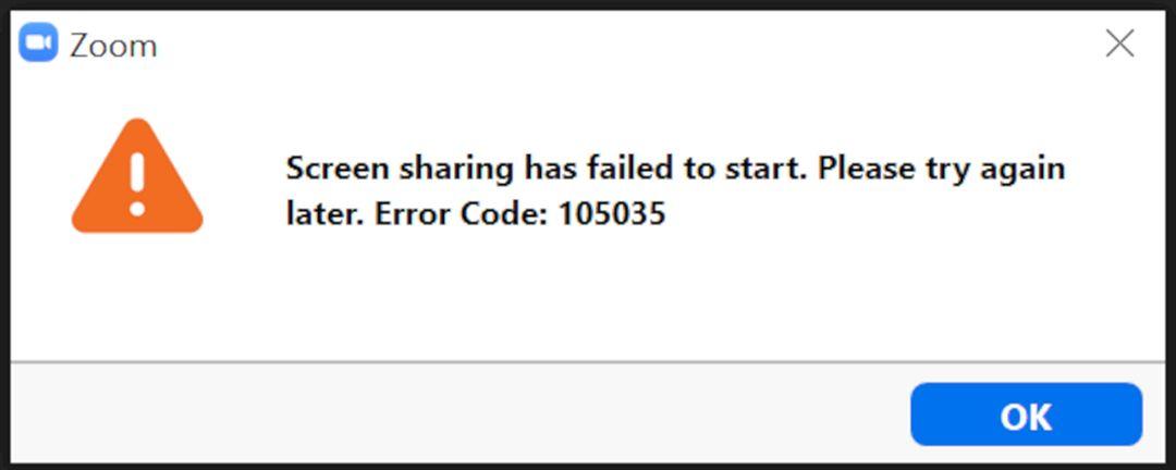 Cara Mengatasi Zoom Tidak Bisa Share Screen Error Kode 105035 Jauhari Net