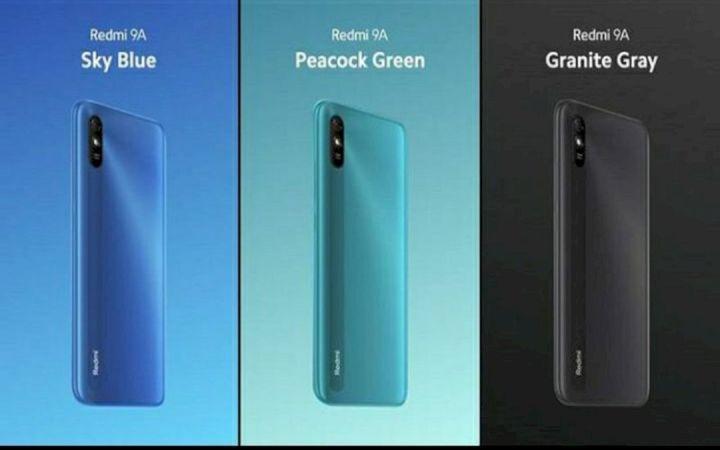3 Varian Xiaomi Redmi 9A