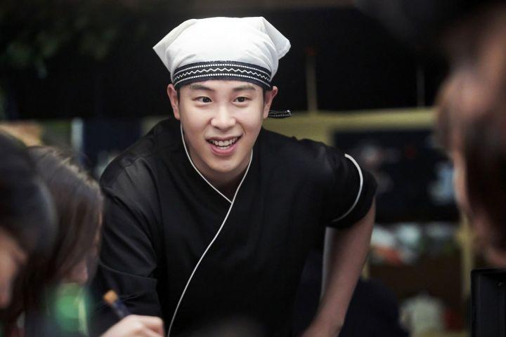 Block B P.O Sebagai Jin Sang Hyuk