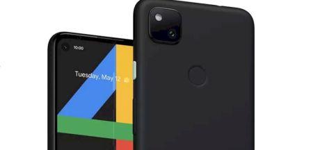 Desain Google Pixel 4a