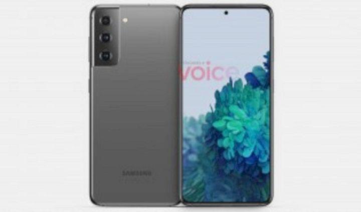 Desain Samsung Galaxy S21
