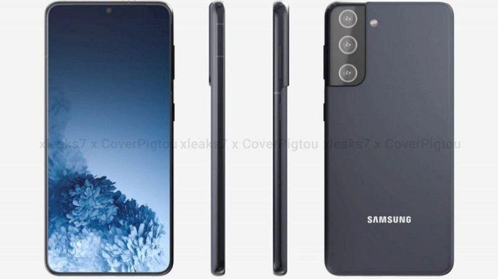 Render Samsung Galaxy S21+