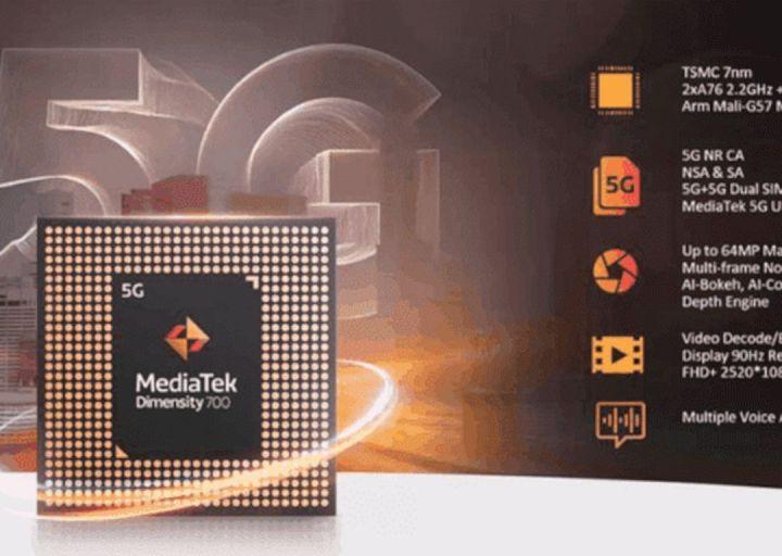 MediaTek Dimensity 700 5G Meluncur