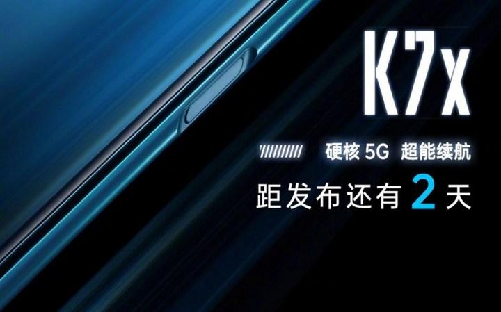 Poster Dan Spesifikasi OPPO K7x
