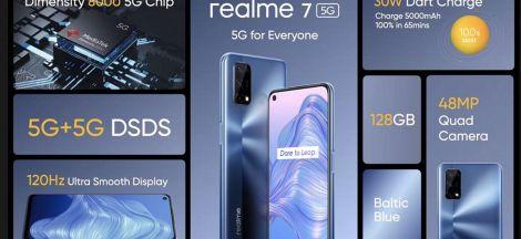 Realme 7 5G Resmi Diumumkan
