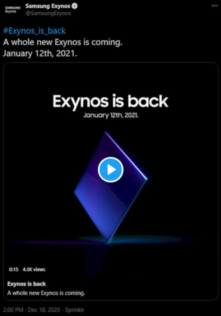Tanggal Peluncuran Exynos 2100