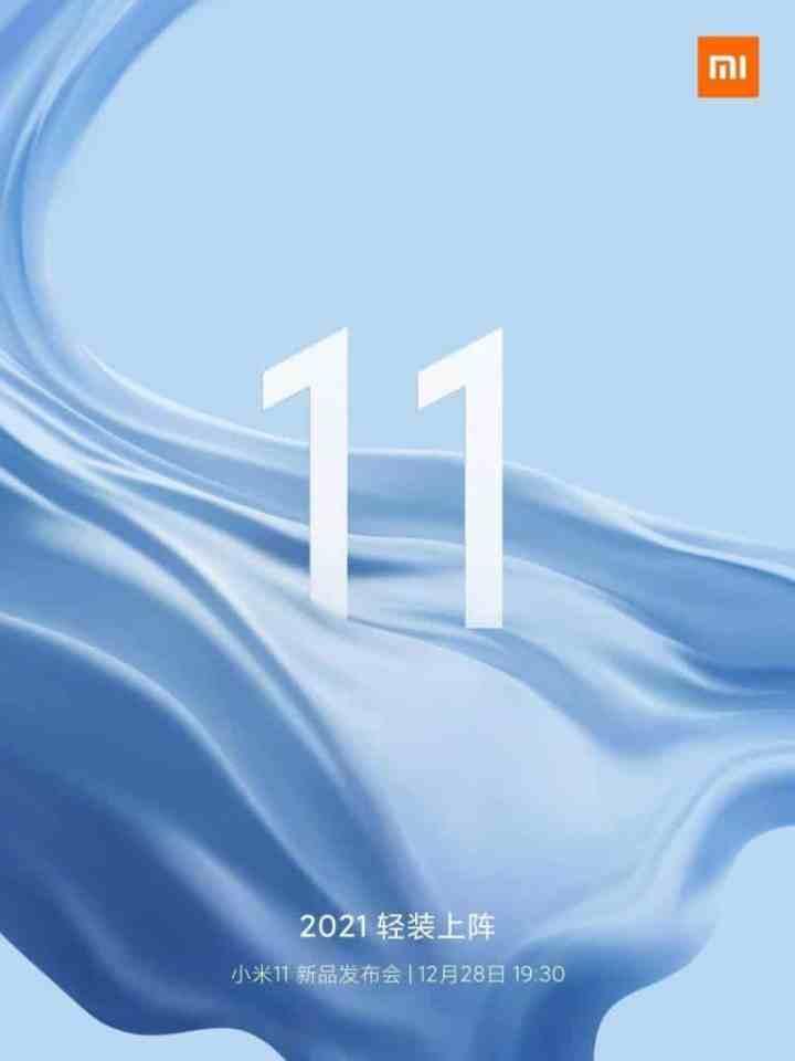 Xiaomi Mi 11 Akan Segera Meluncur
