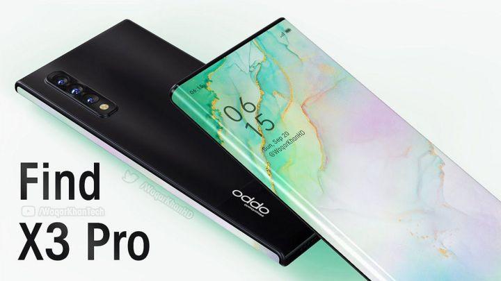 Render OPPO Find X3 Pro
